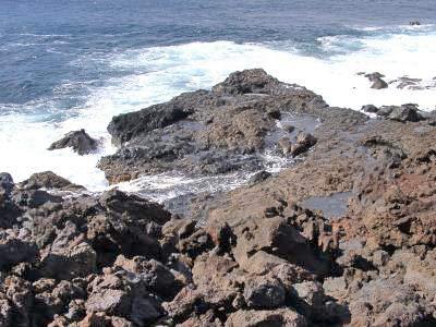 Küste im Westen von El Hierro
