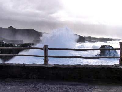 Brandung in Punta Grande auf El Hierro