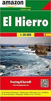 El Hierro. Auto-, Freizeit und Wanderkarte